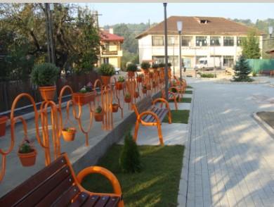 Înfiinţarea şi amenajarea unui parc public în comuna Proviţa de Sus - Prahova