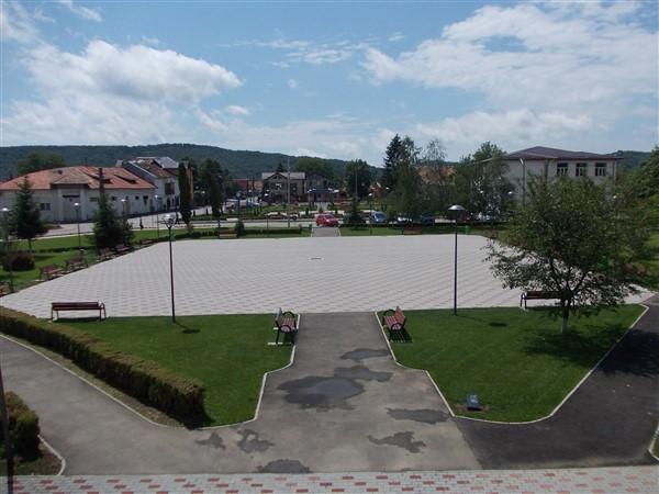 Amenajare peisagistică a zonei Centrale a comunei Brebu - Prahova