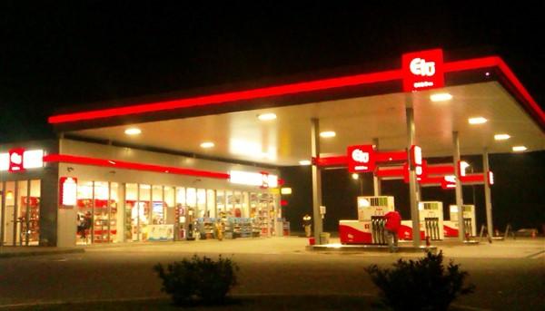 Staţie carburanţi (instalaţii electrice interioare şi exterioare) DN 1, Cornu - Prahova